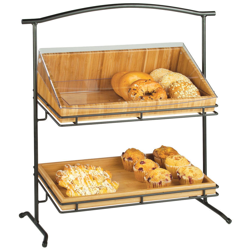 Cal-Mil 1330-12-13 Iron Two Tier Black Arched Stand