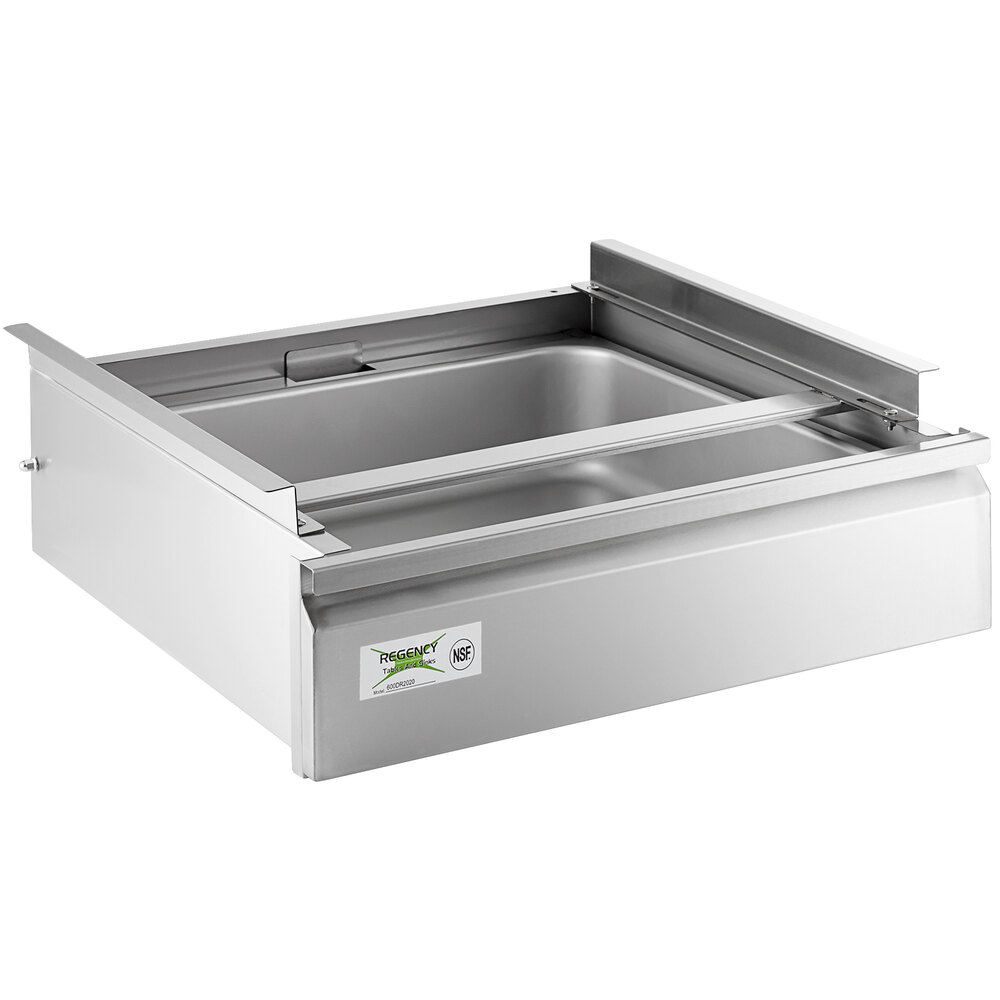 Regency 20 inch x 20 inch x 5 inch Drawer with Stainless Steel Front