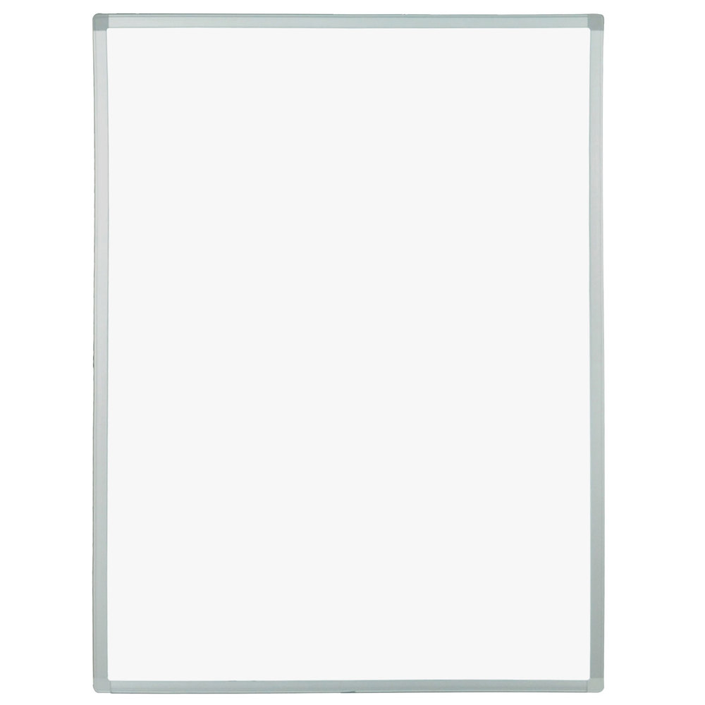 "Luxor / H. Wilson MB3040WW-A 30"" x 40"" Replacement Double-Sided Whiteboard"