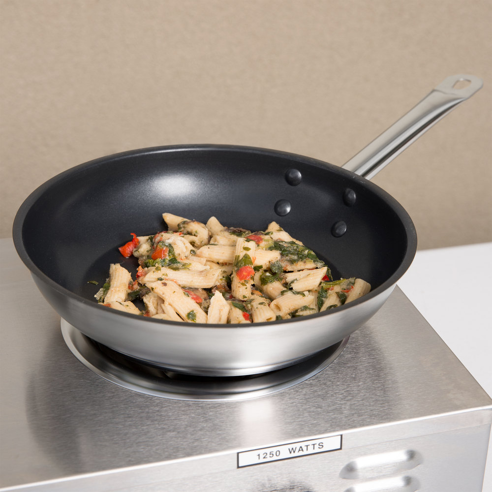 "9"" Non-Stick Aluminum-Clad Stainless Steel Fry Pan"