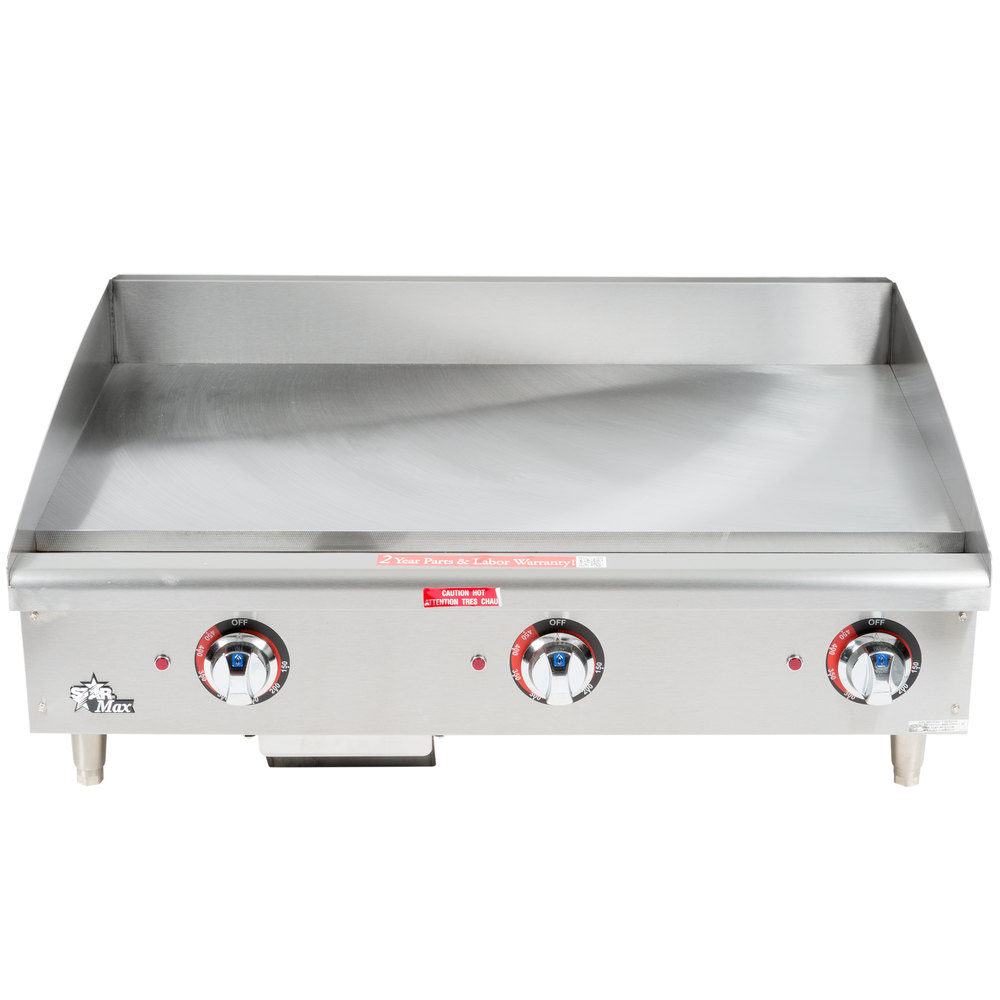 Countertop Griddle : Star Max 536TGF 36