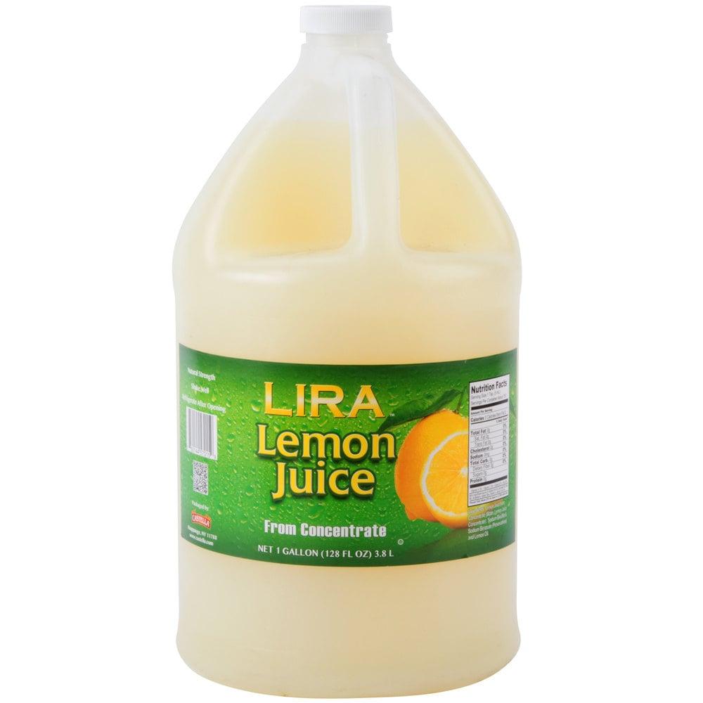 Lemon Juice 1 Gallon