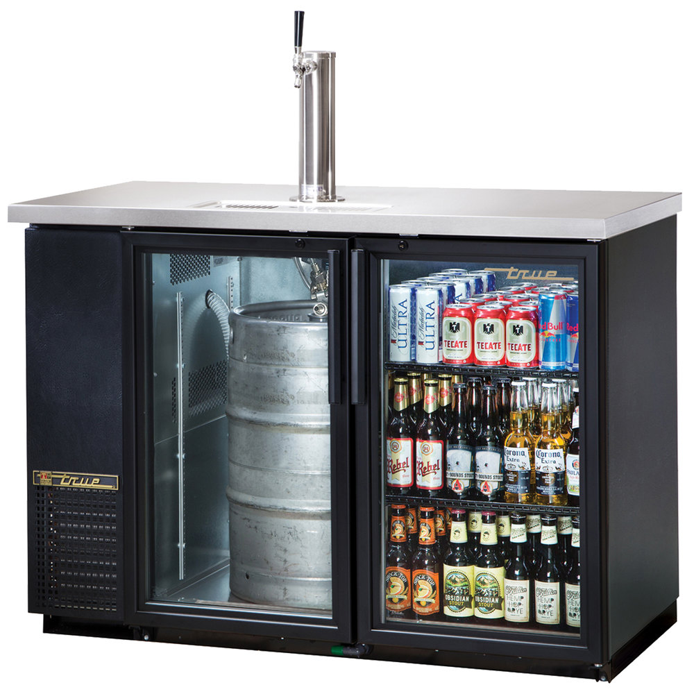 True Tdb 24 48g 49 Quot Back Bar Direct Draw Kegerator Beer
