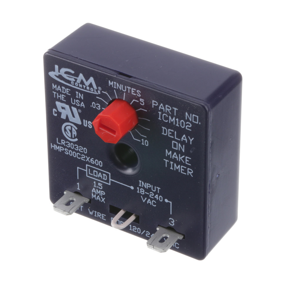 True Refrigeration 915306 Time Delay Relay On Circuit