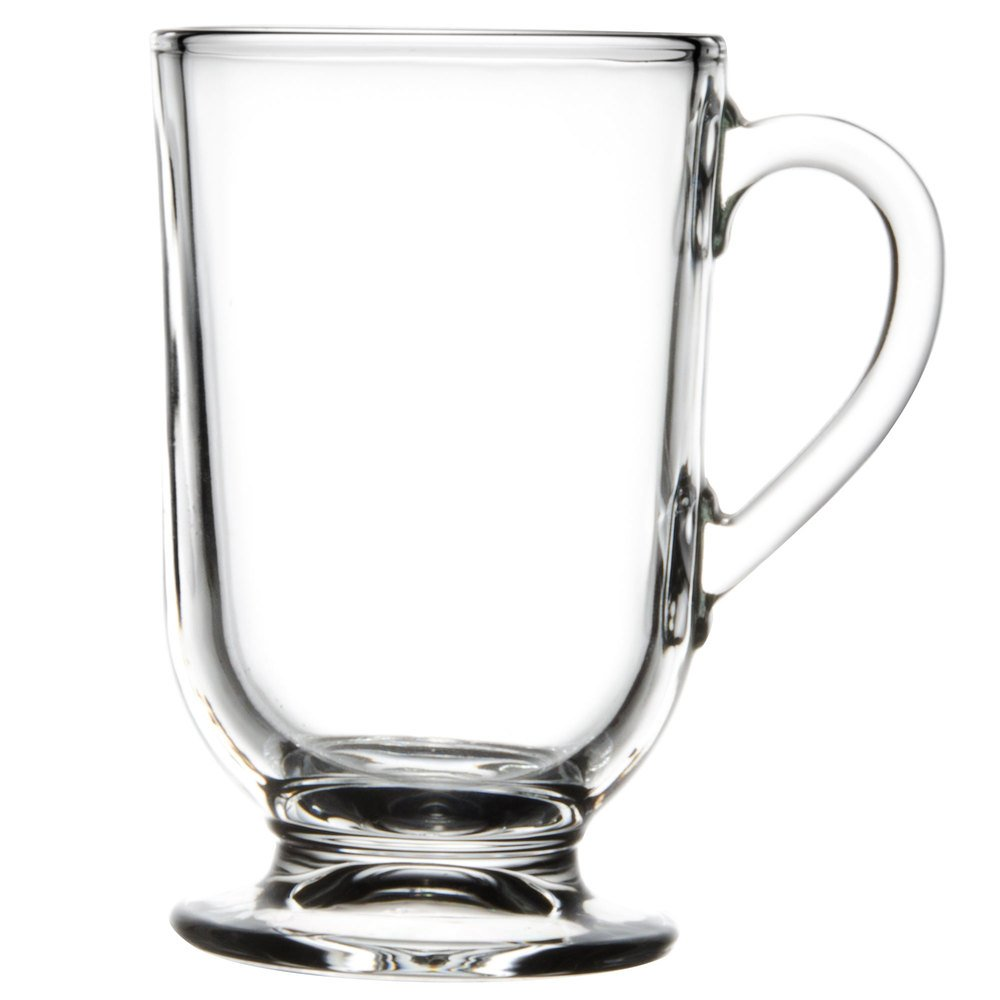 Libbey 5304 10 5 Oz Irish Glass Coffee Mug 12 Case