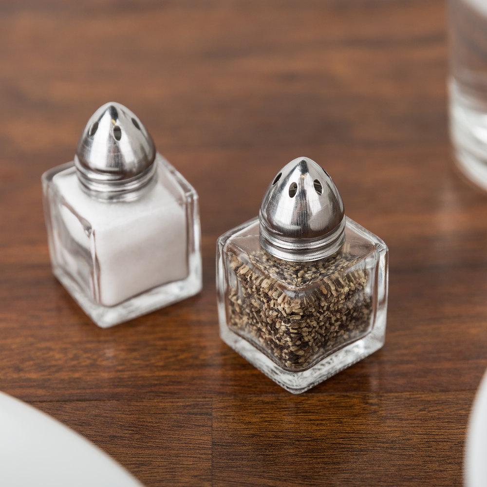 5 oz mini salt and pepper shaker 24 case