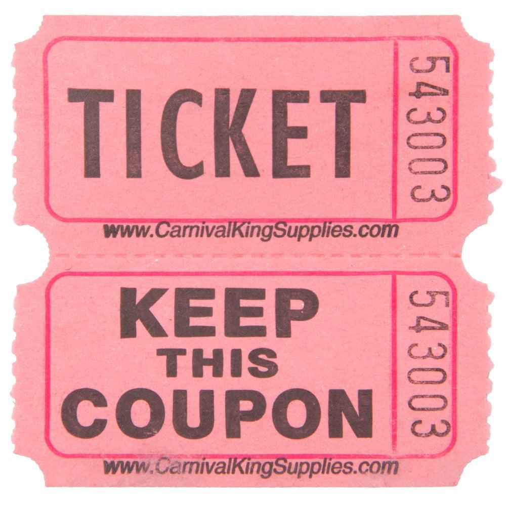 ruffle ticket