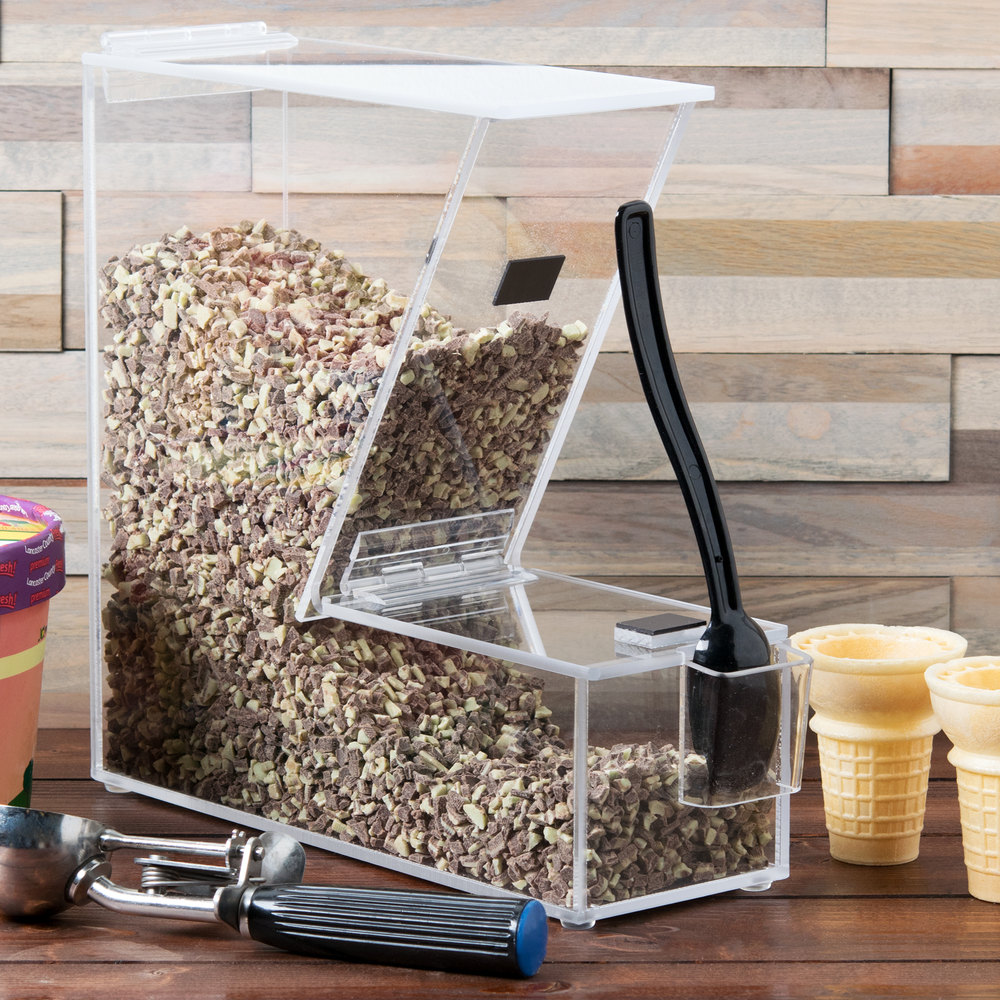 "Cal-Mil 373-H Classic Topping Dispenser with Holster - 11"" x 4"" x 11"""