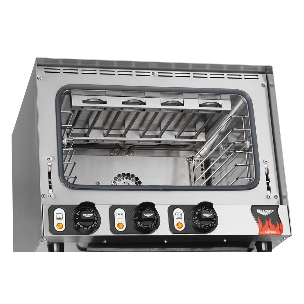 Vollrath Countertop Convection Oven : Vollrath 40703 Cayenne Half Size Convection Oven / Broiler - 120V