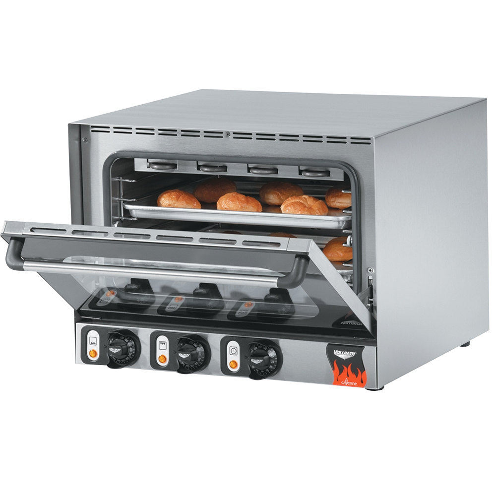 Half Size Countertop Convection Oven : Vollrath 40703 Cayenne Half Size Countertop Convection Oven - 120V