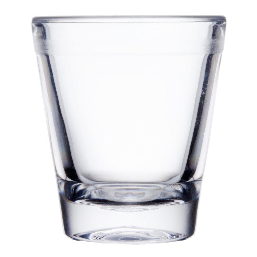 Oz Plastic Shot Glasses