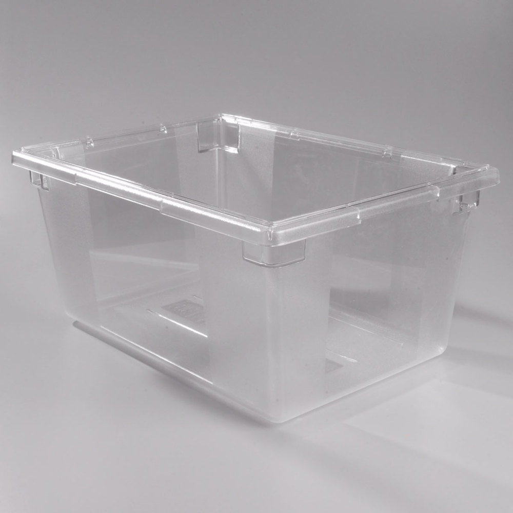 "Carlisle 1062307 StorPlus 26"" x 18"" x 12"" Clear Food Storage Box"