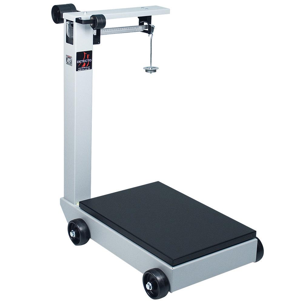 Cardinal detecto 854f50p 500 lb portable mechanical floor for 1000 lb floor scale