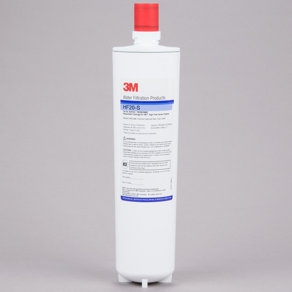 3m Water Filtration Products Hf20 S Replacement Cartridge