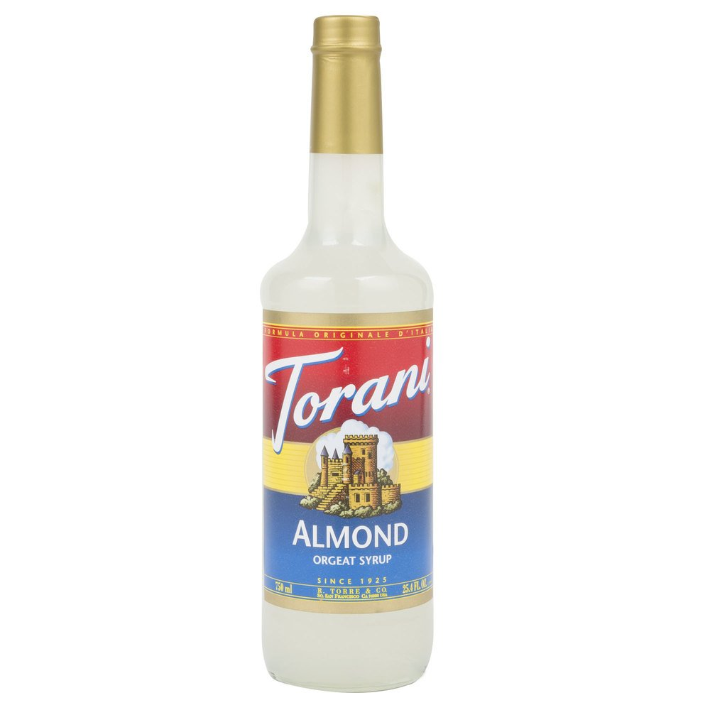 Torani 750 mL Almond (Orgeat) Flavoring Syrup