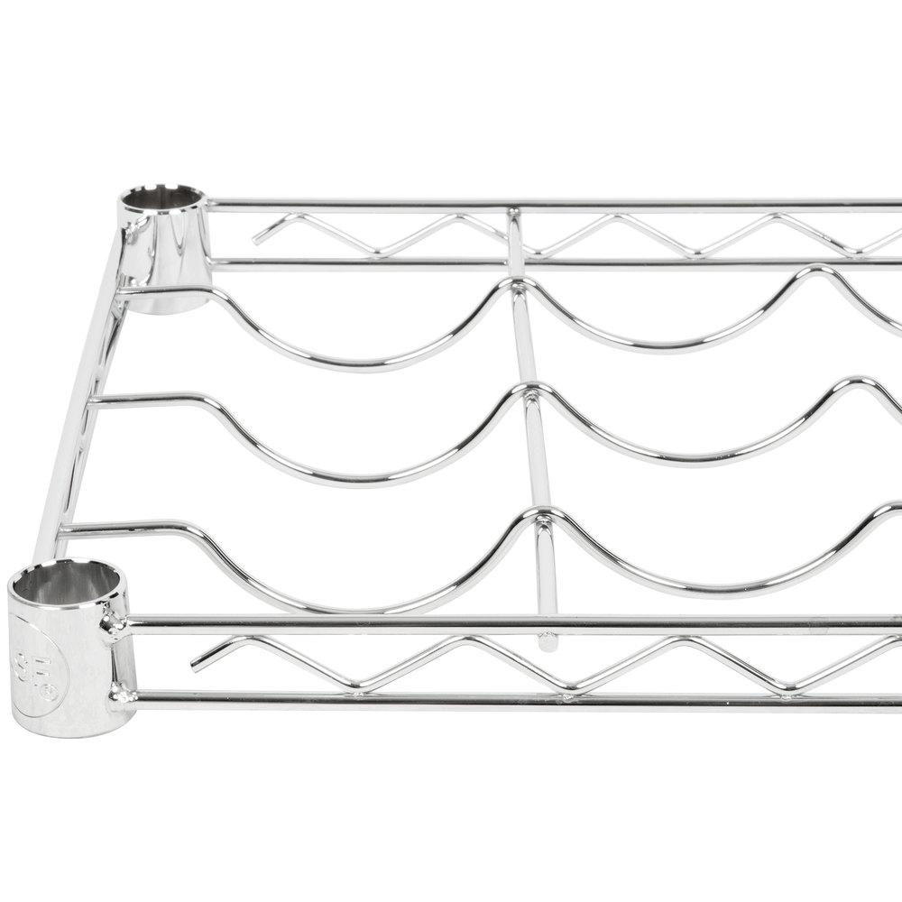 Regency 14 inch x 48 inch Wire Wine Shelf