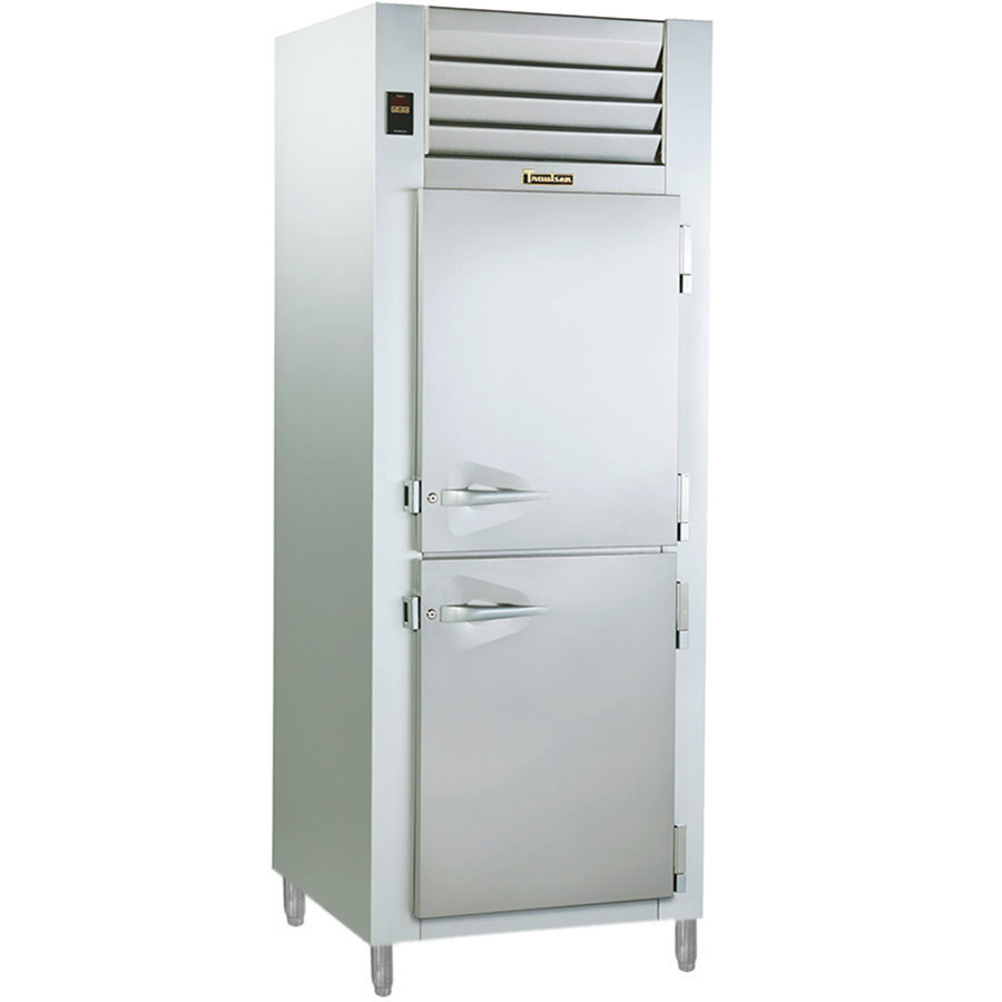 Traulsen AHF132W-HHS 24.8 Cu. Ft. Solid Half Door Single Section Reach In Heated Holding Cabinet - Specification Line
