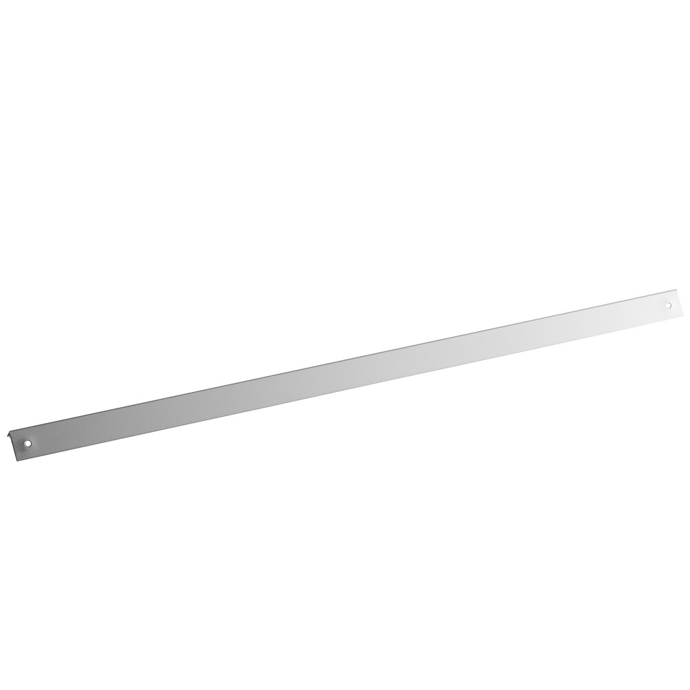 Regency 16 Gauge Wall Outside Corner Guard with Adhesive Strips and Mounting Holes - 2 inch x 48 inch