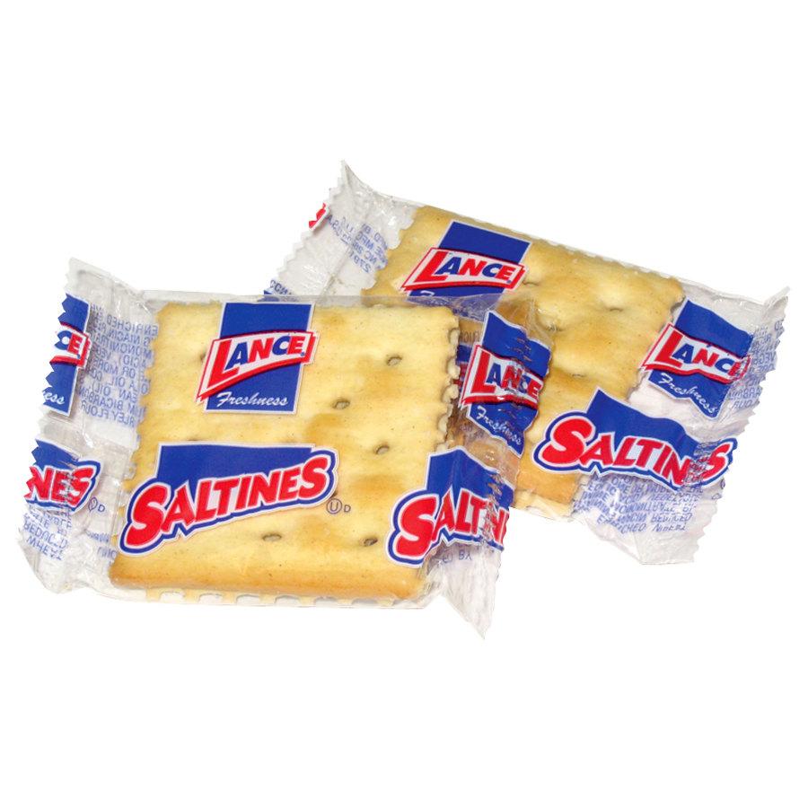 Lance Saltine Crackers 500 Case