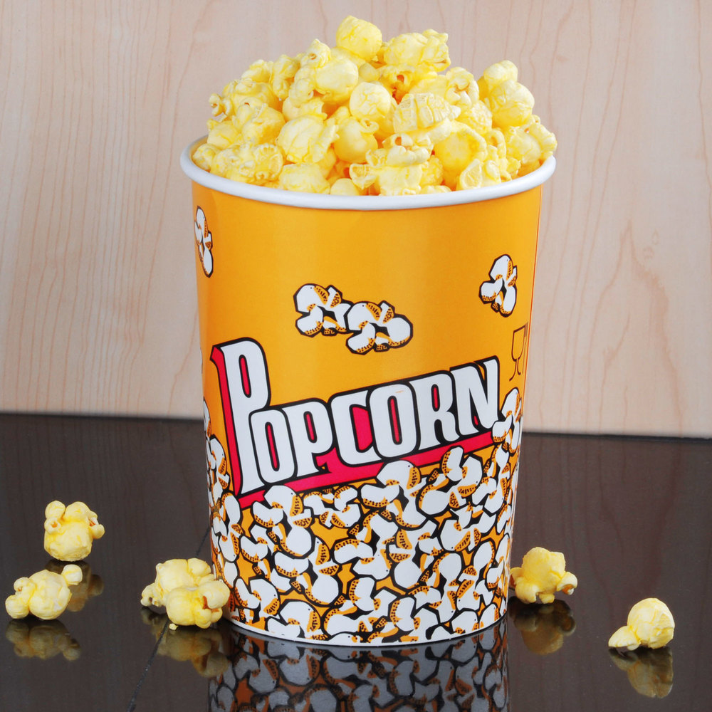 Carnival King 32 oz. Popcorn Cup - 50 / Pack