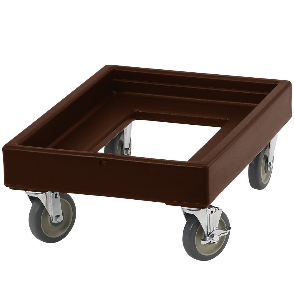 Cambro CD100131 Dark Brown Camdolly for Cambro Camcarriers and Camtainers