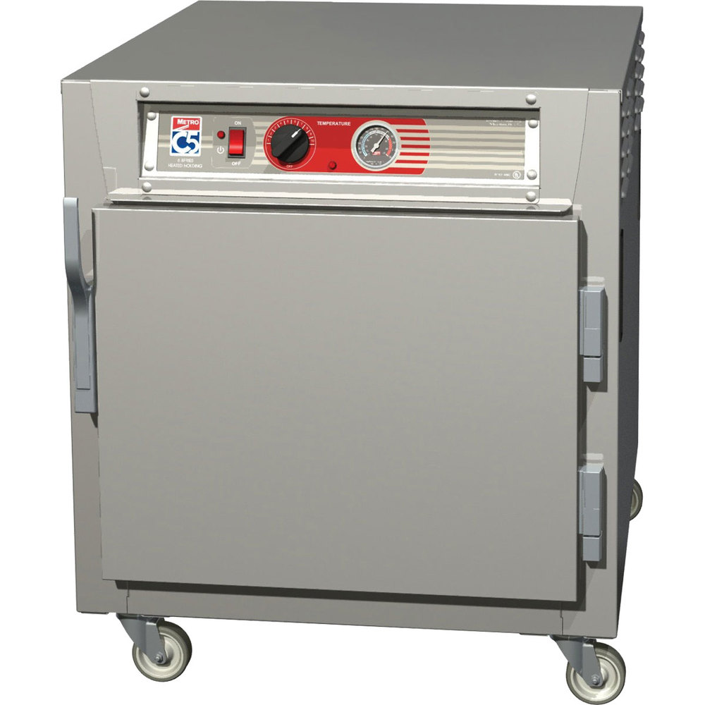 Metro C563L-SFS-L C5 6 Series Under Counter Reach-In Heated Holding Cabinet - Solid Doors