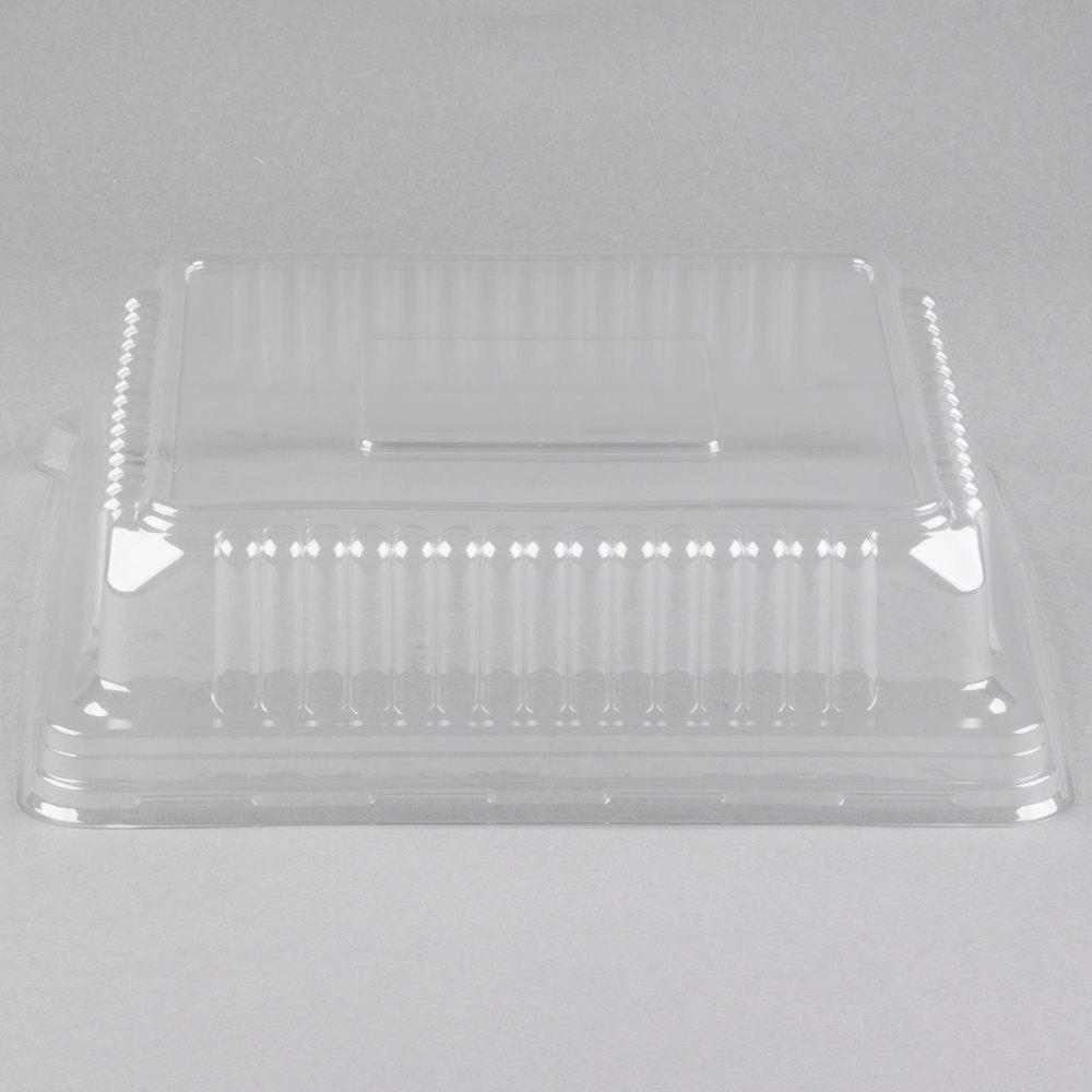 Fineline 9522l Cl Platter Pleasers 12 Quot X 12 Quot Clear Plastic