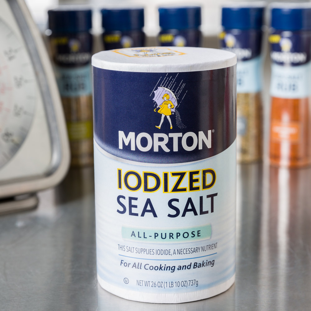 Morton 26 oz. All-Purpose Iodized Sea Salt