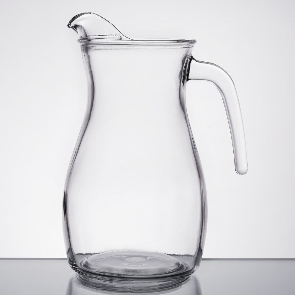 libbey 13112221 oz curvy glass pitcher. Black Bedroom Furniture Sets. Home Design Ideas