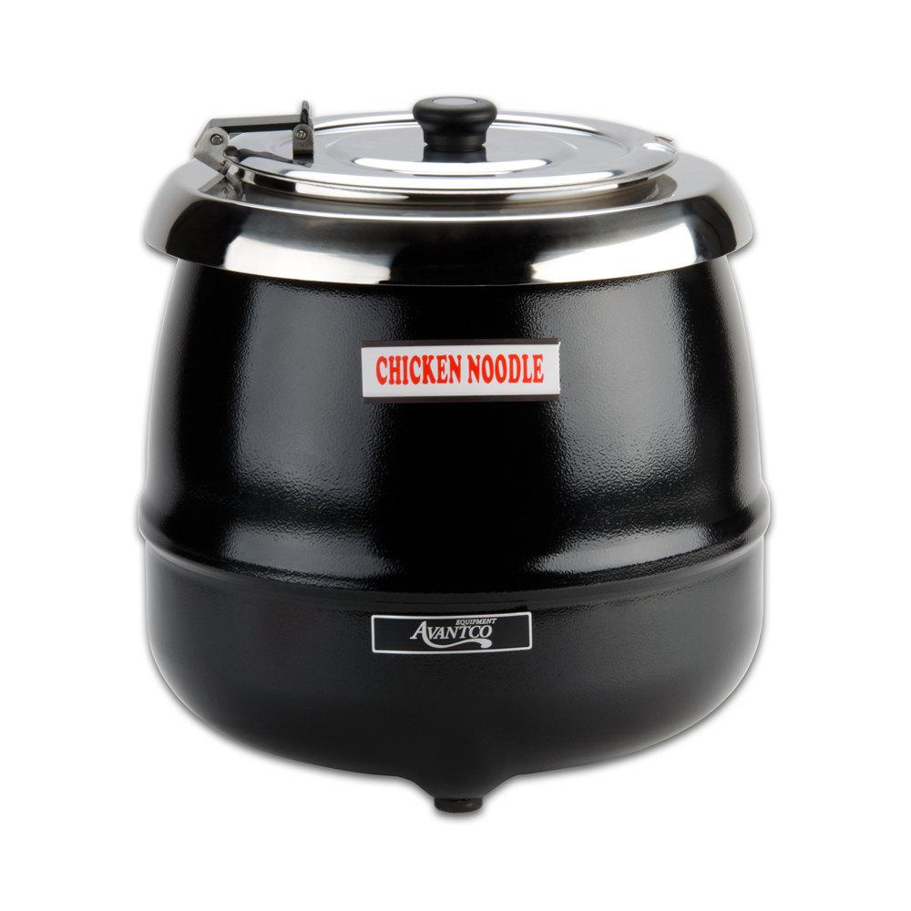Restaurant Soup Warmer ~ Avantco s qt soup kettle warmer v w