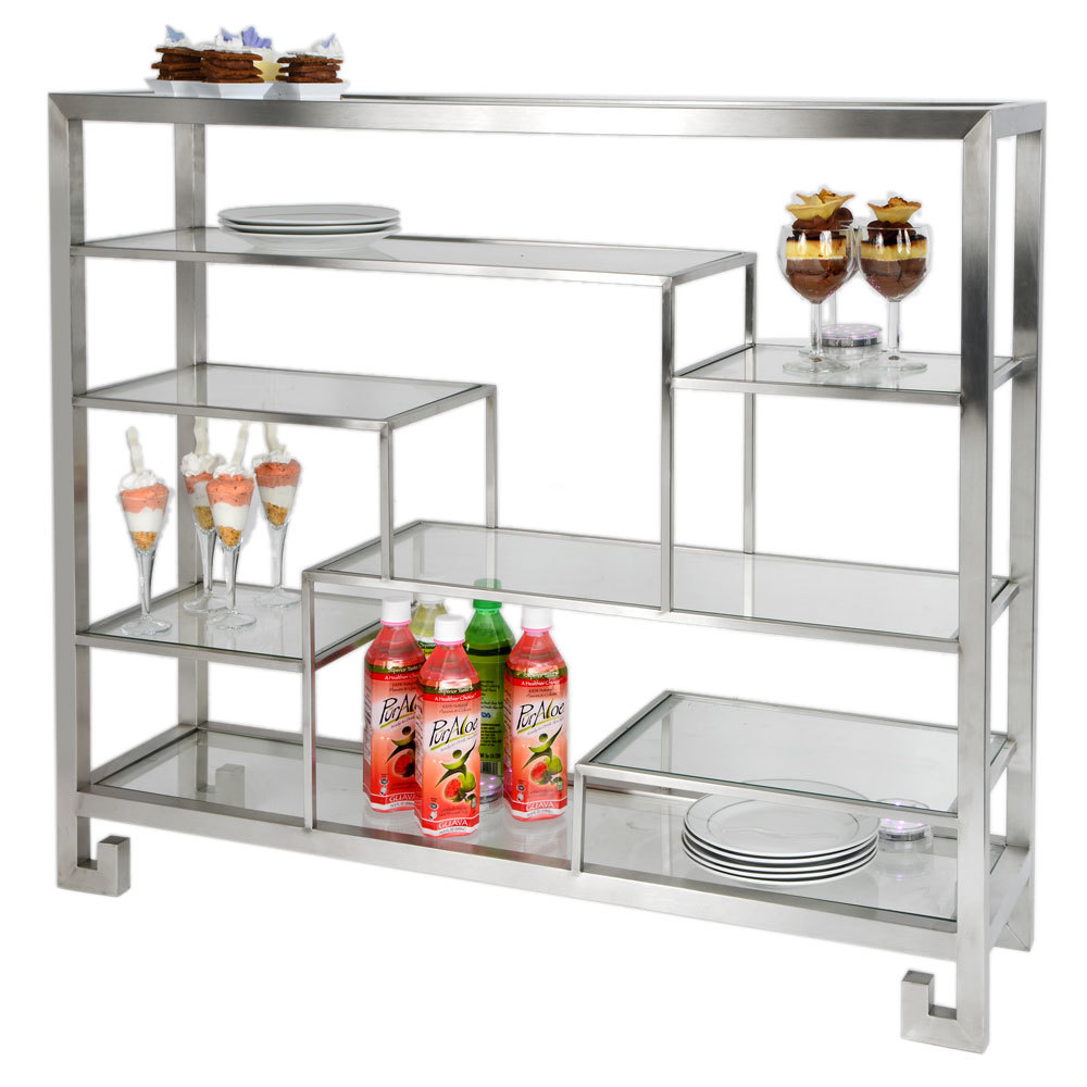 PLACEHOLDER IMAGE REQUESTED BY BUYER. Note: Tabletop Display Stand And  Shelves Only