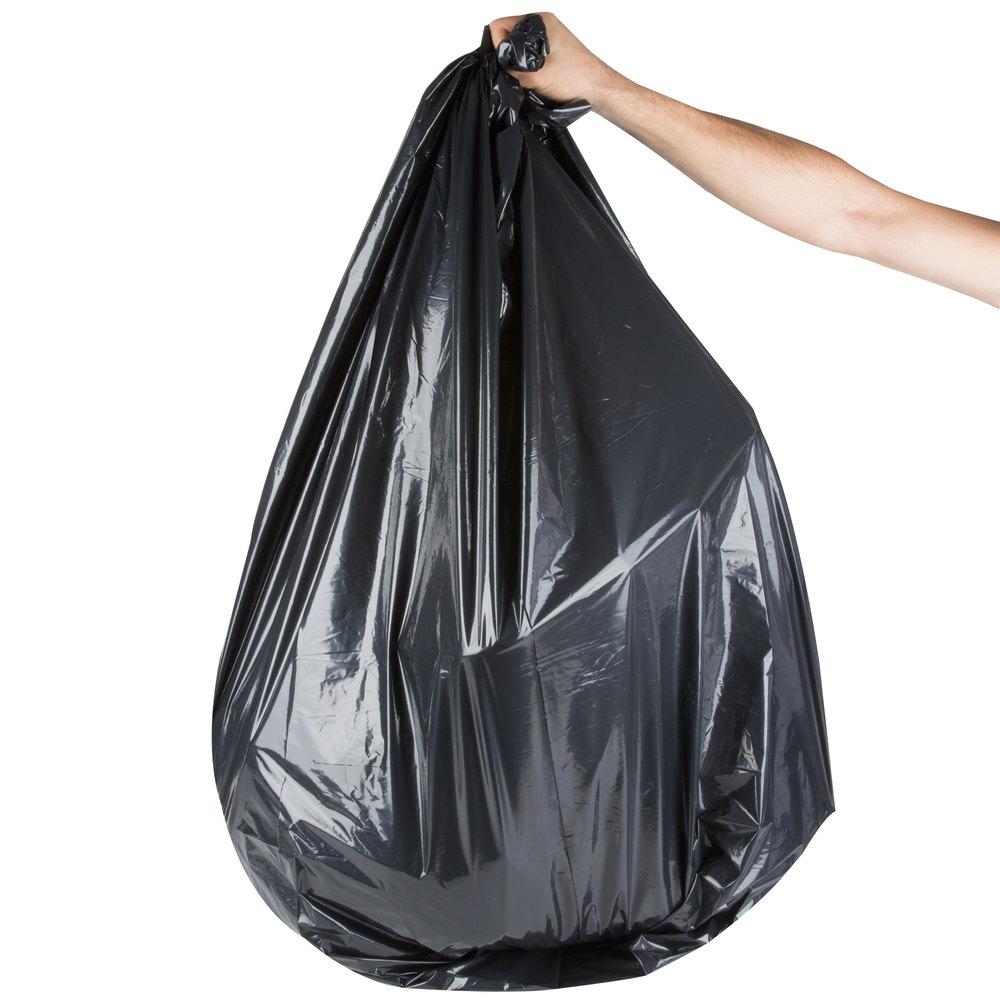 berry aep 385848g 55 60 gallon 1 9 mil 38 x 58 low density can liner trash bag 100 case. Black Bedroom Furniture Sets. Home Design Ideas