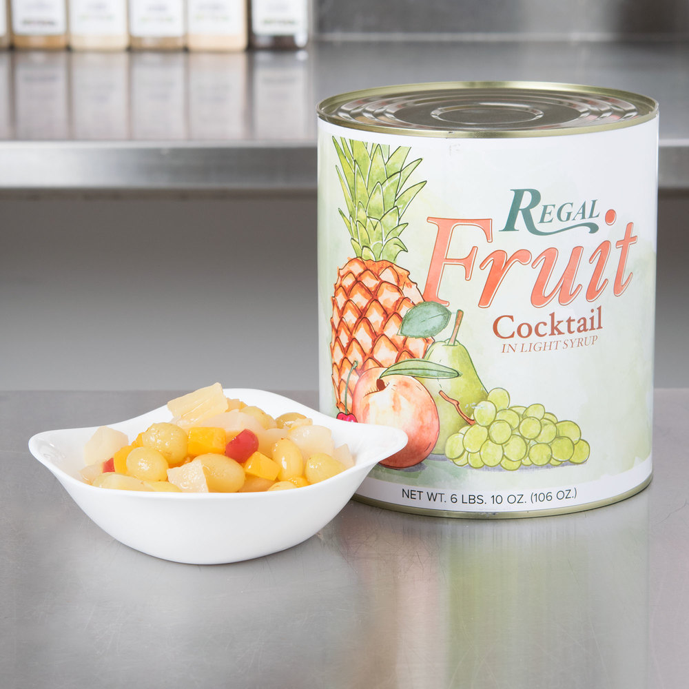 Regal Foods Fruit Cocktail in Light Syrup - #10 Can