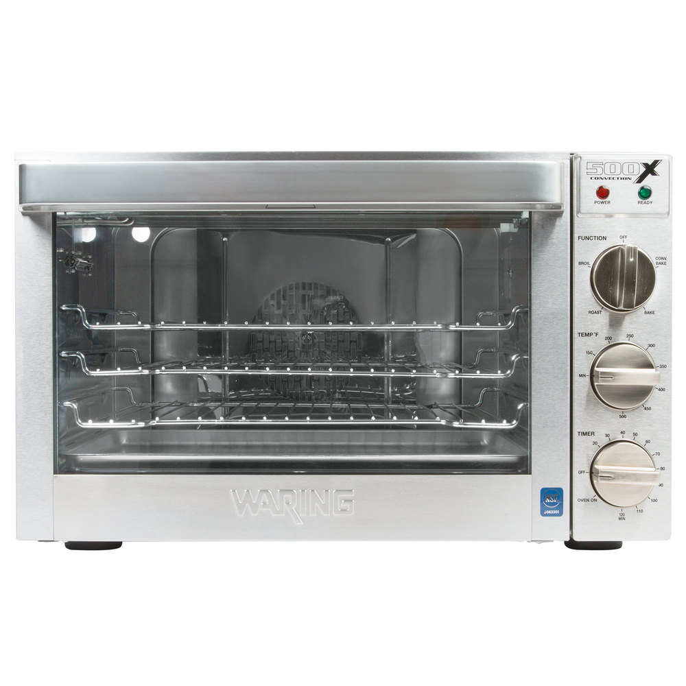 Countertop Oven Commercial : Waring WCO500X Half Size Countertop Convection Oven - 120V, 1700W