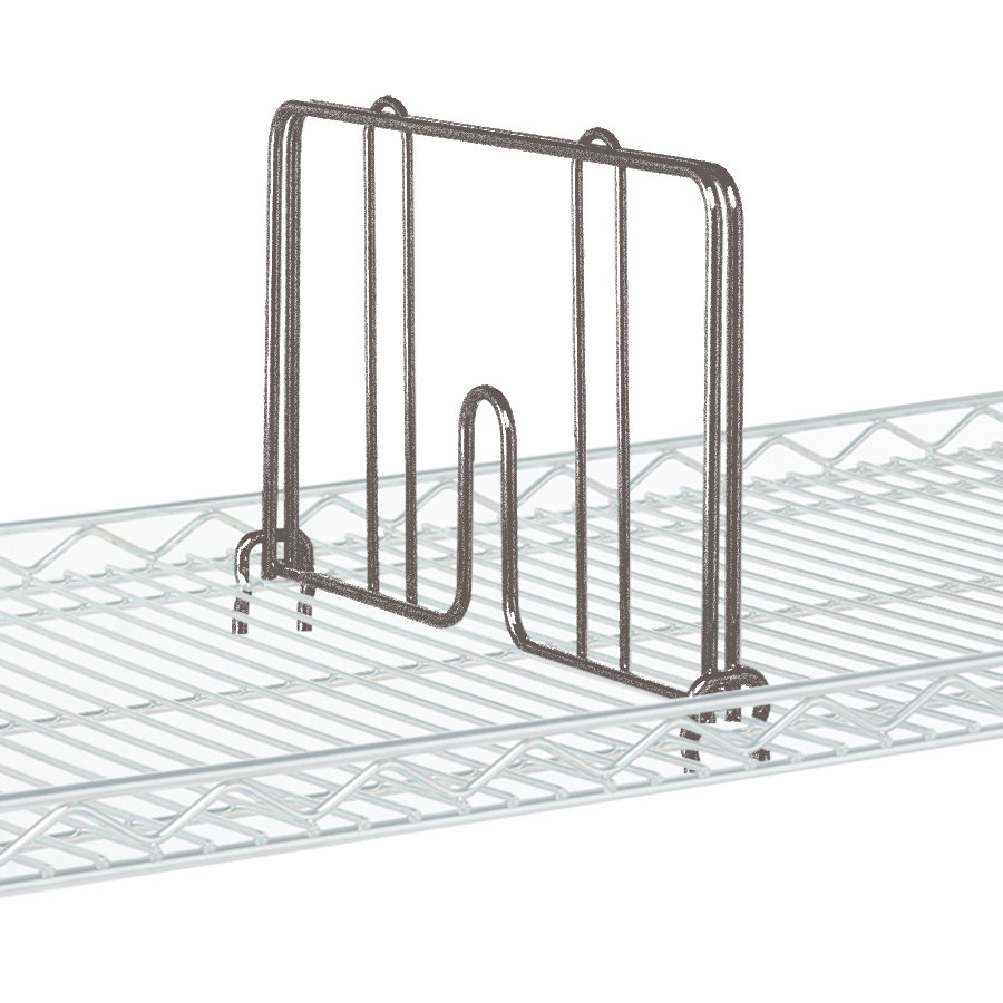 "Metro HD18-DCH Copper Hammertone Drop Mat Snap-On Divider - 18"" Wide"