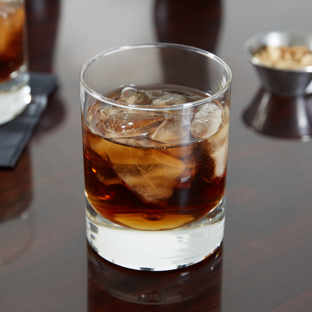 Anchor Hocking H054504 Disco 8.5 oz. Rocks / Old Fashioned Glass - 24/Case
