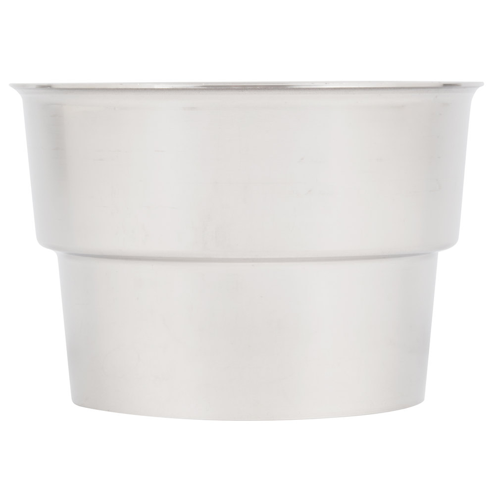 "Malt Cup Collar for 3 1/2"" Cups - Stainless Steel"