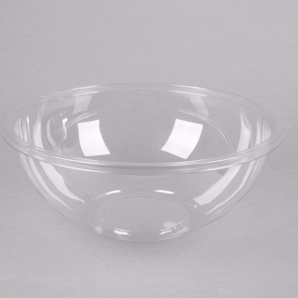 fineline 5320 cl super bowl 320 oz clear pet plastic bowl 5 pack. Black Bedroom Furniture Sets. Home Design Ideas