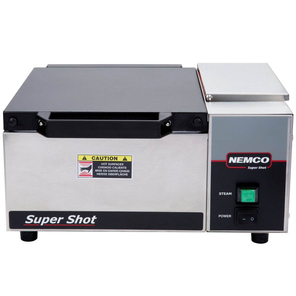 Nemco 6600 Super Shot Countertop Tortilla / Portion Steamer - 120V on