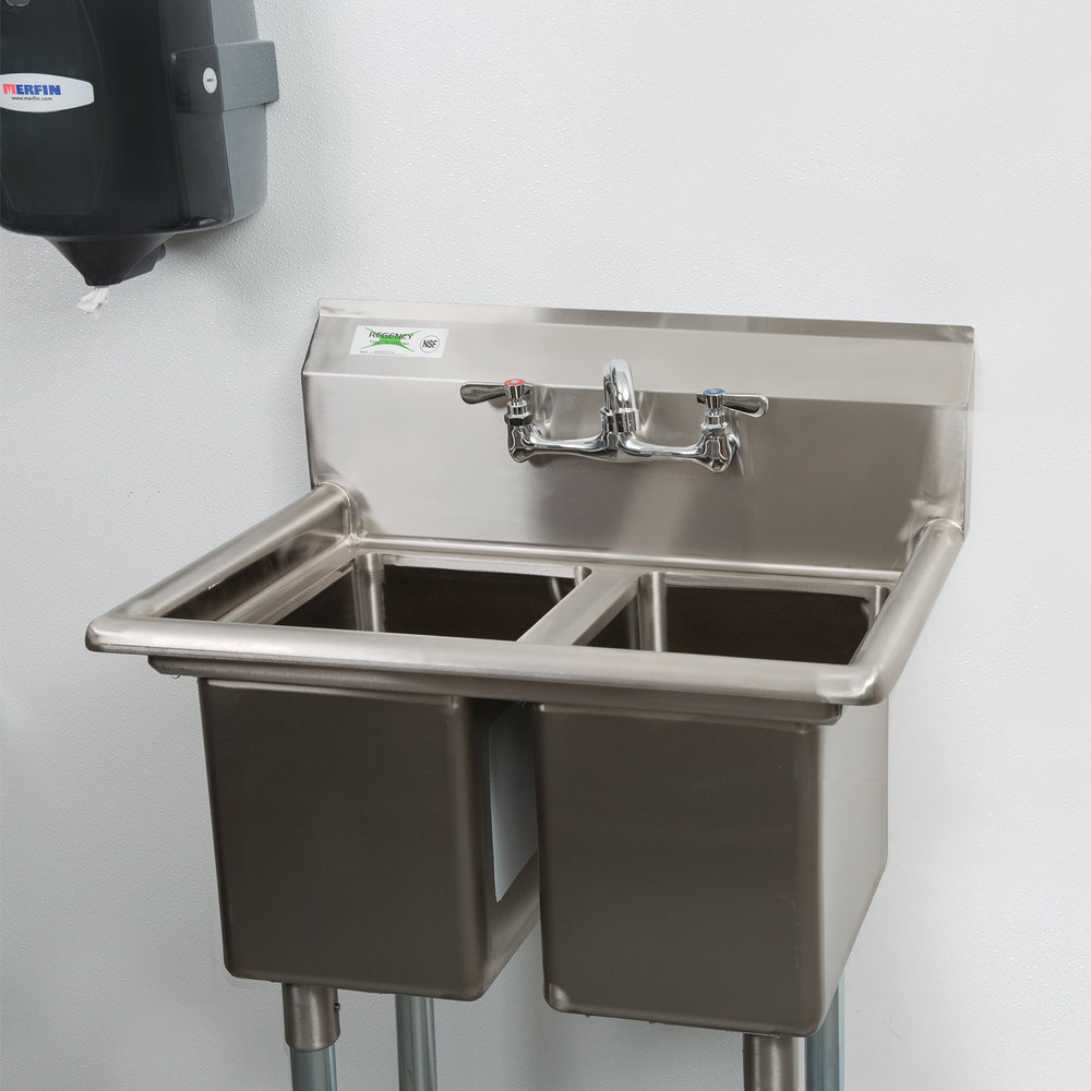 2 Compartment Sink : Regency 27