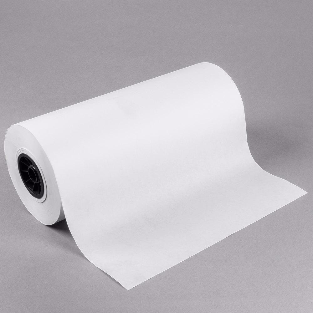 18 X 1000 40 Lb White Freezer Paper Roll