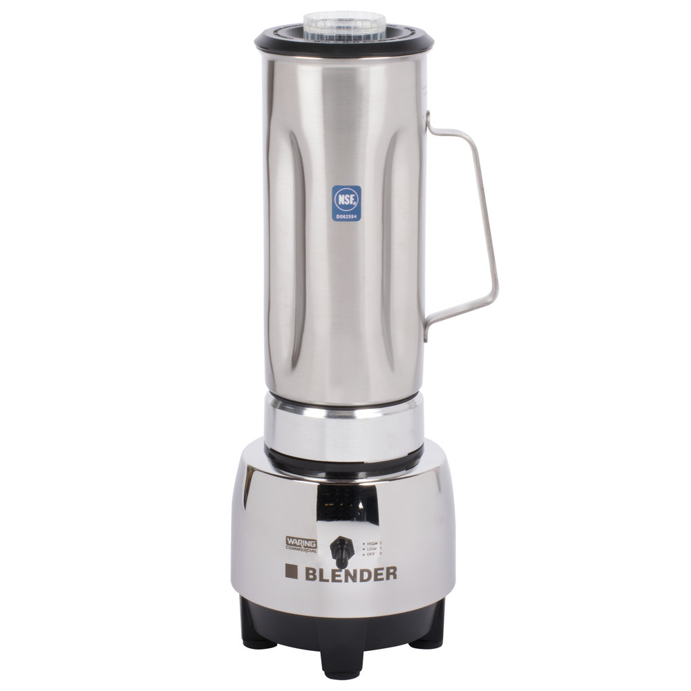 Stainless Steel Blender ~ Waring hgbss half gallon blender with stainless steel jar