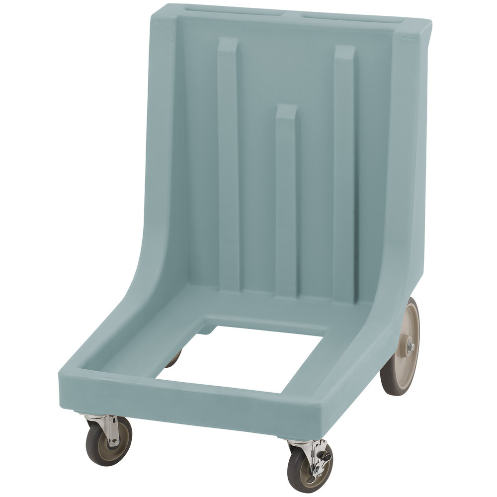 Cambro CD1826MTCHB401 Slate Blue Camdolly for Cambro 1826MTC Tray and Sheet Pan Camcarrier