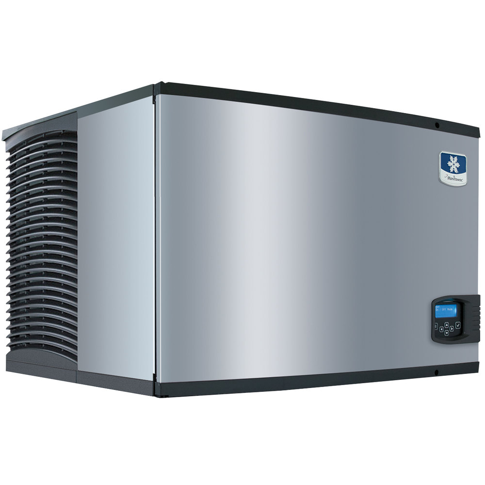 "Manitowoc IY-0606W Indigo Series 30"" Water Cooled Half Size Cube Ice Machine - 700 lb."