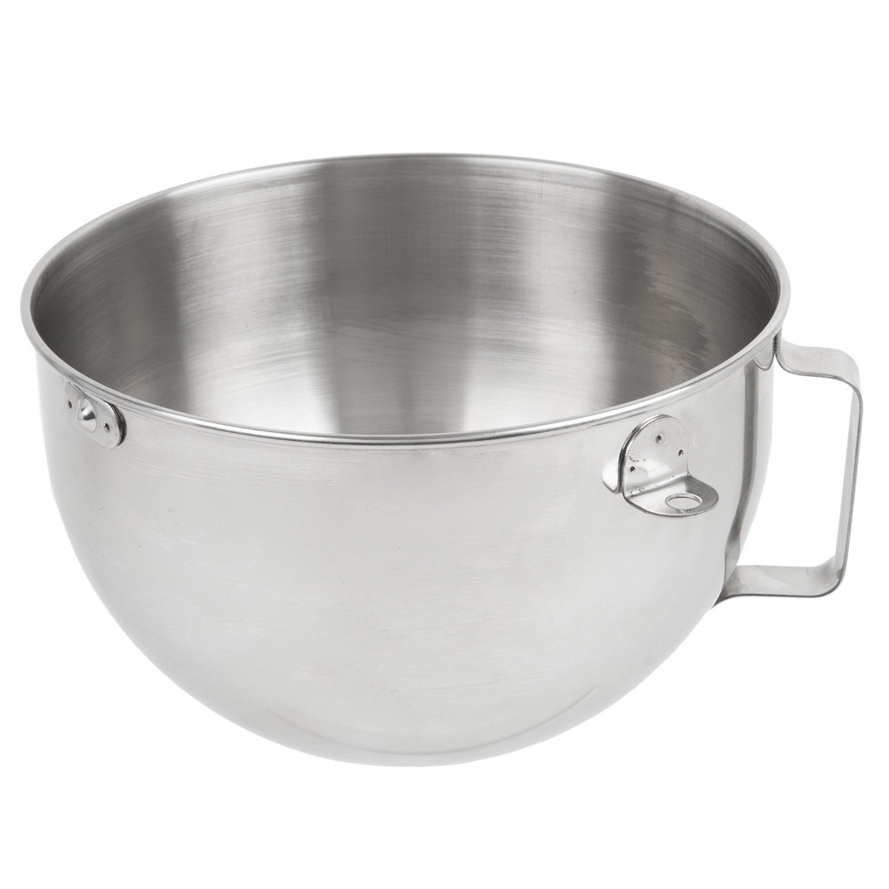 Kitchenaid Kn25wpbh Polished Stainless Steel 5 Qt Mixing