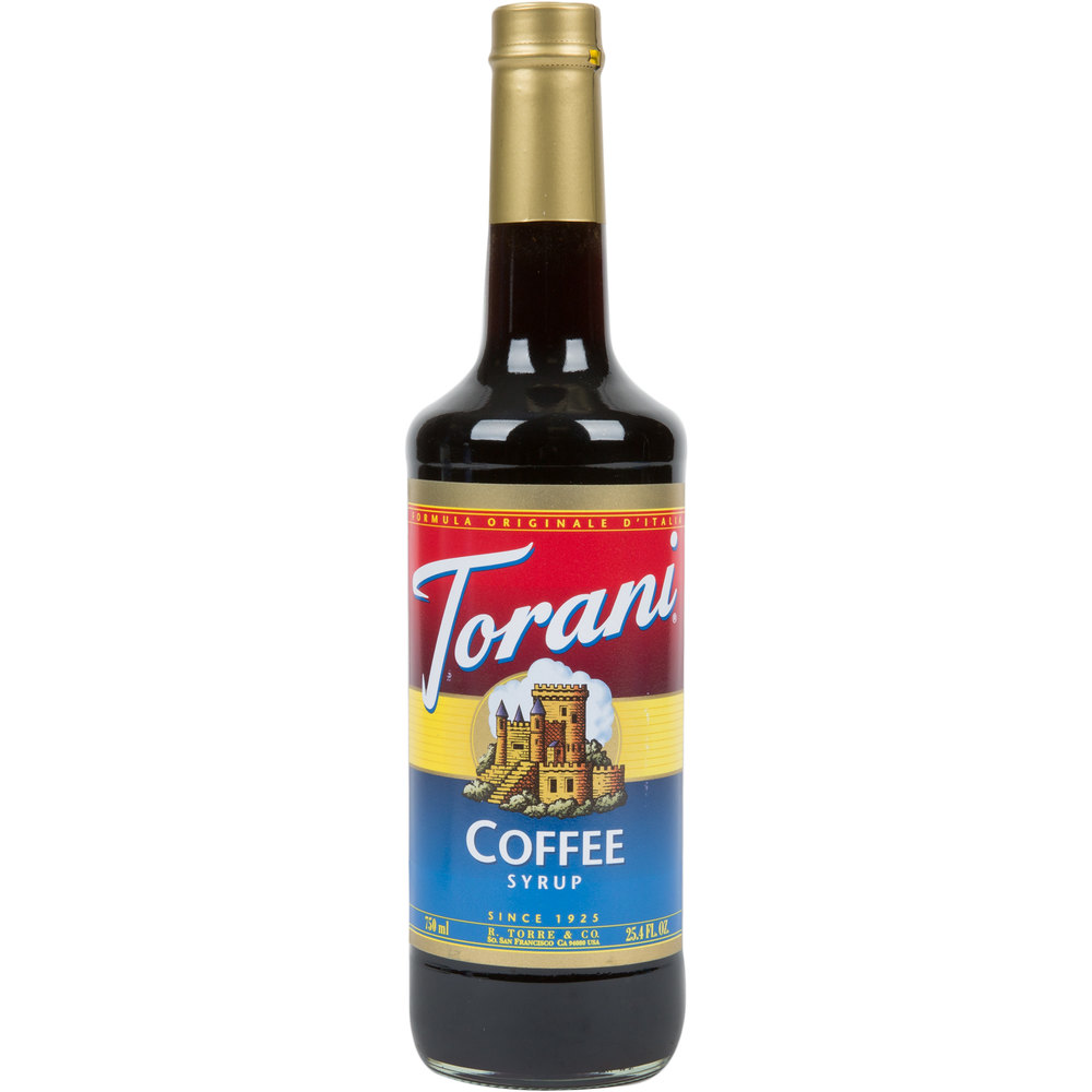Torani 750 Ml Coffee Flavoring Syrup