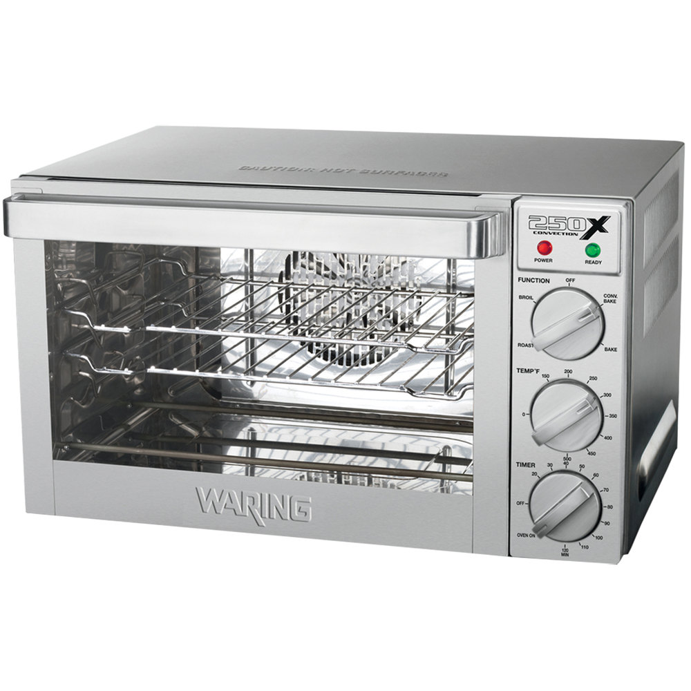 Waring WCO250X Quarter Size Countertop Convection Oven - 120V, 1700W
