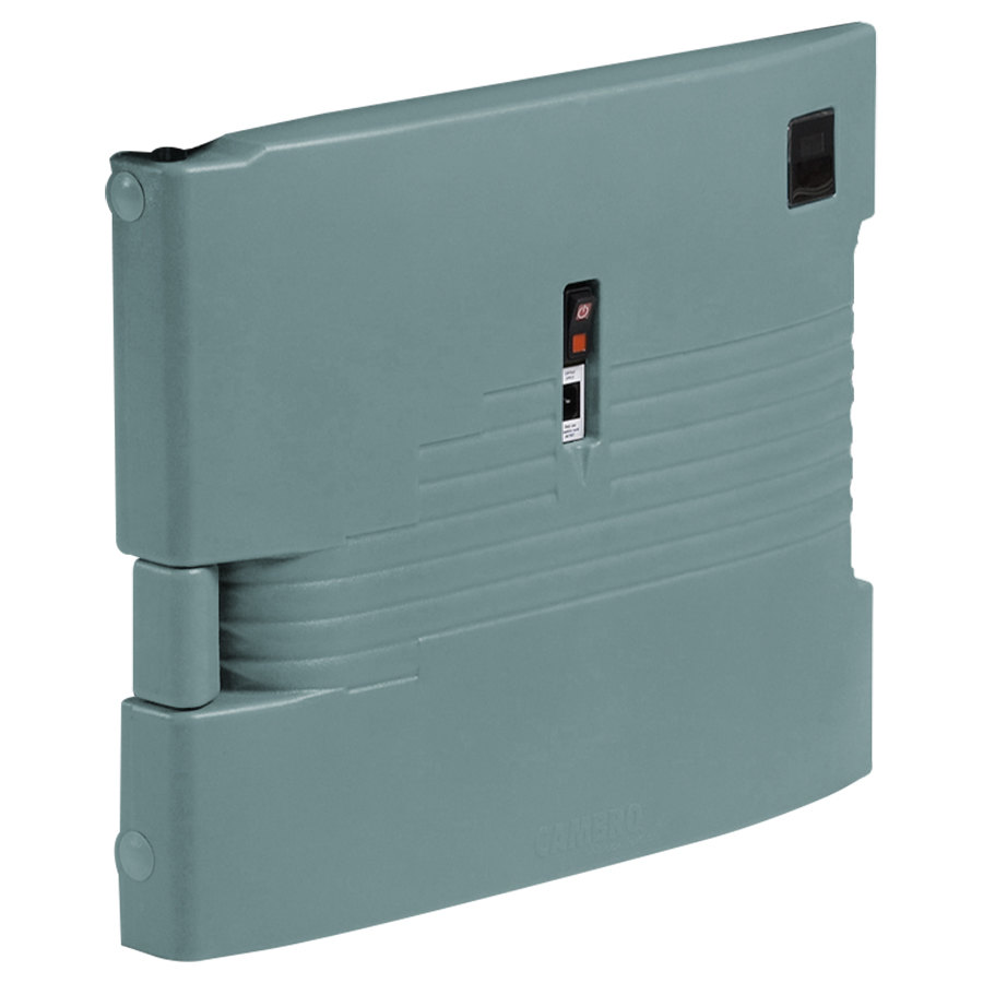 Cambro UPCHTD16002401 Slate Blue Replacement Heated Top Door for Camcarrier - 220V (International Use Only)