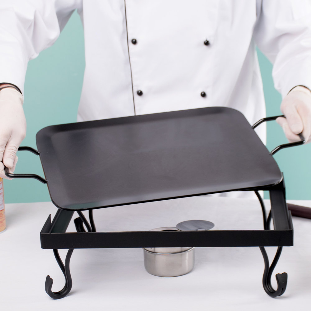 American Metalcraft G61 1/2 Size Iron Griddle