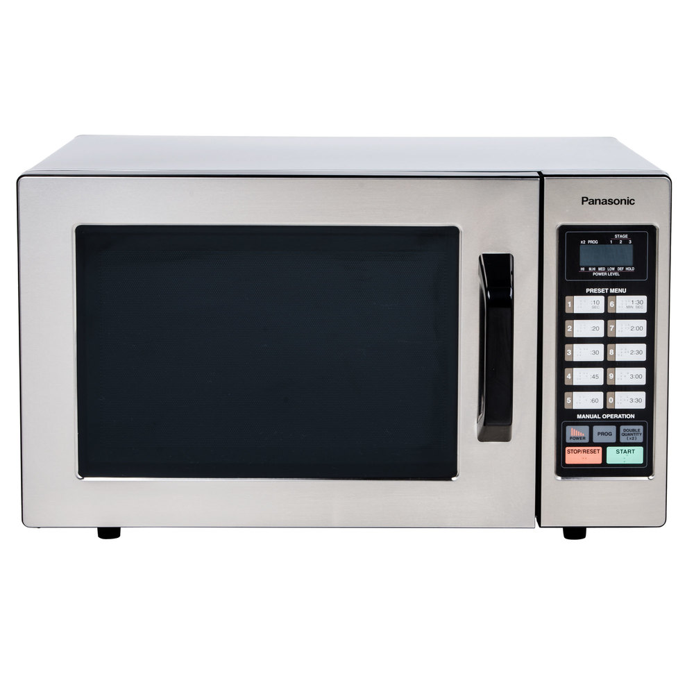 Panasonic Ne 1054f Stainless Steel Commercial Microwave